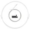 capgo OL Schaltset für Shimano/Sram ROAD & ATB/MTB Weiß